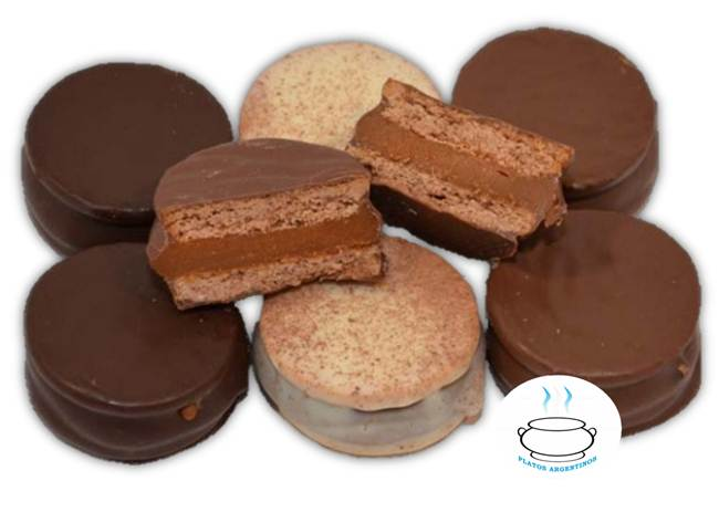 Alfajor marplatense - Platos Argentinos