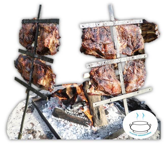 ▷ Asado a la Estaca - Como preparar - Receta | Platos Argentinos