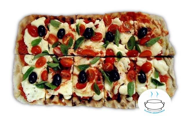 ▷ PIZZA A LA PARRILLA - Como preparar - Receta - Platos Argentinos