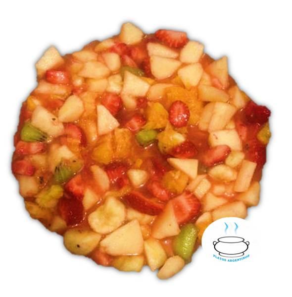 Fácil y deliciosa receta de Ensalada de Frutas  - Platos Argentinos