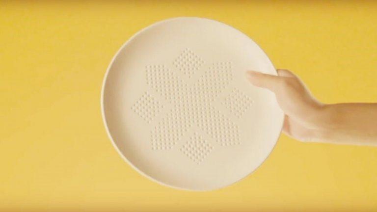 Increíble: Inventan un plato que puede absorber un 30% de las calorías de tus comidas