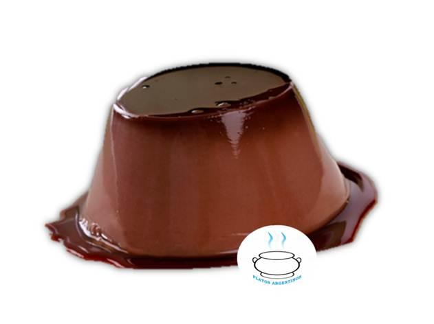 receta flan de chocolate casero